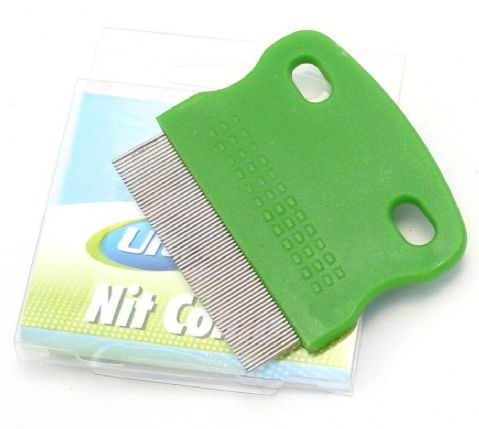 Ultracare - Metal teeth Nit head lice Comb